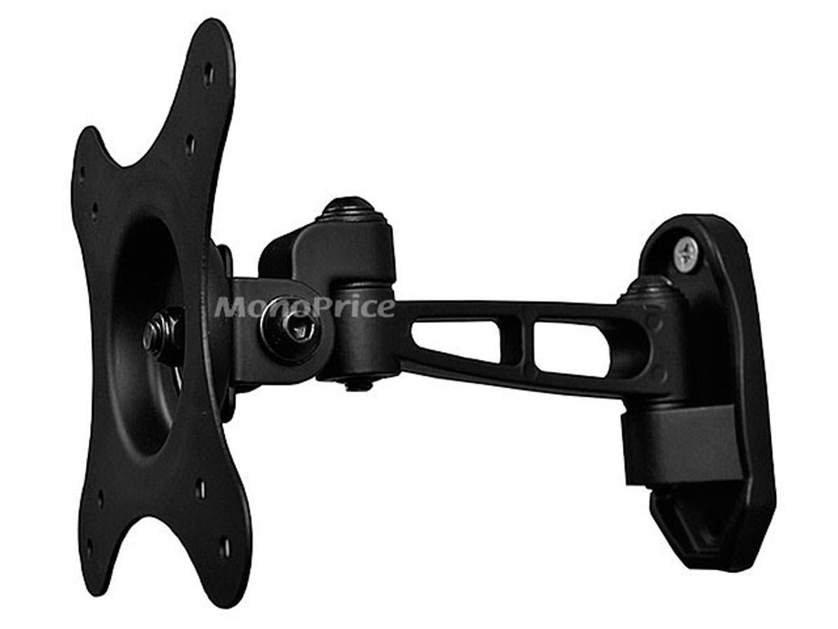 Full-Motion Wall Mount Bracket (Max 30 lbs, 10 - 24 inch)