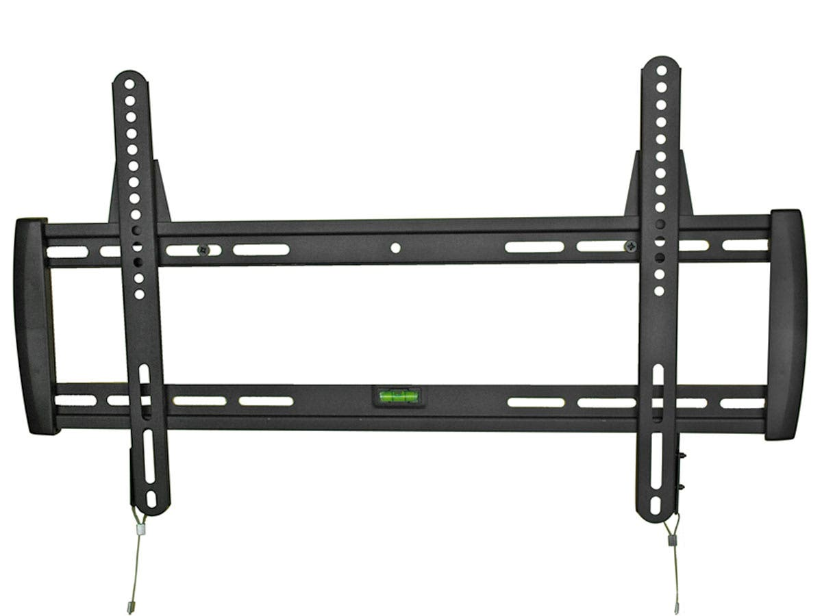Monoprice Fixed TV Wall Mount Bracket - For TVs 32in to 52in, Max Weight 125lbs, VESA Patterns Up to 600x400-Large-Image-1