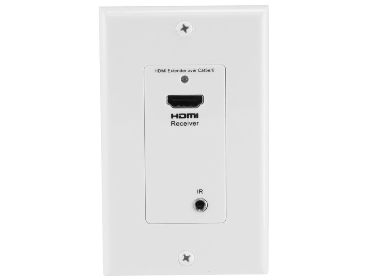 Monoprice HDMI Over Cat5e / Cat6 Extender Wall Plate (Pair) with ...