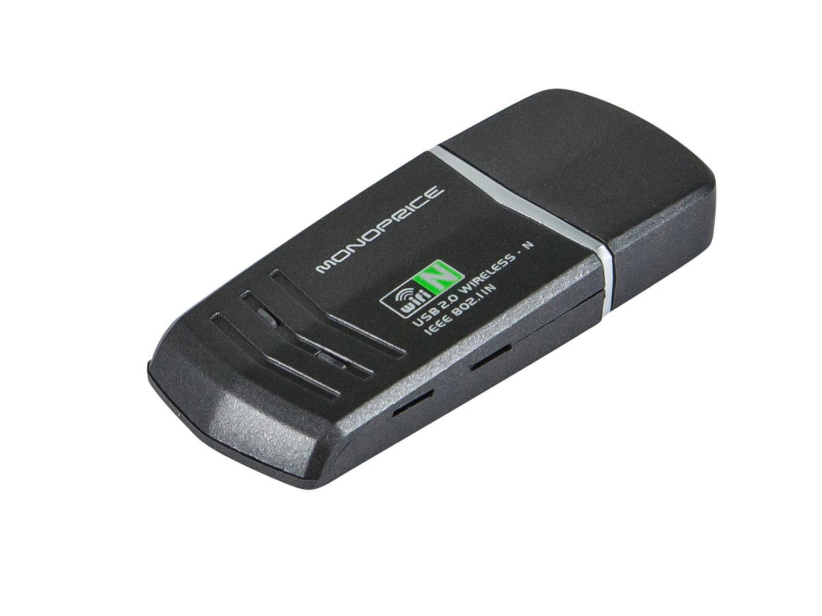 USB Wireless Lan 802.11N Adapter - 2T2R (300Mbps)
