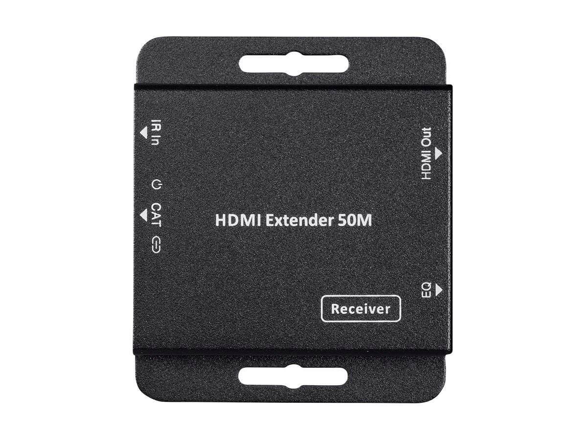 Monoprice 1x4 HDMI Amplifier Splitter over Cat6 Complete Solution ...