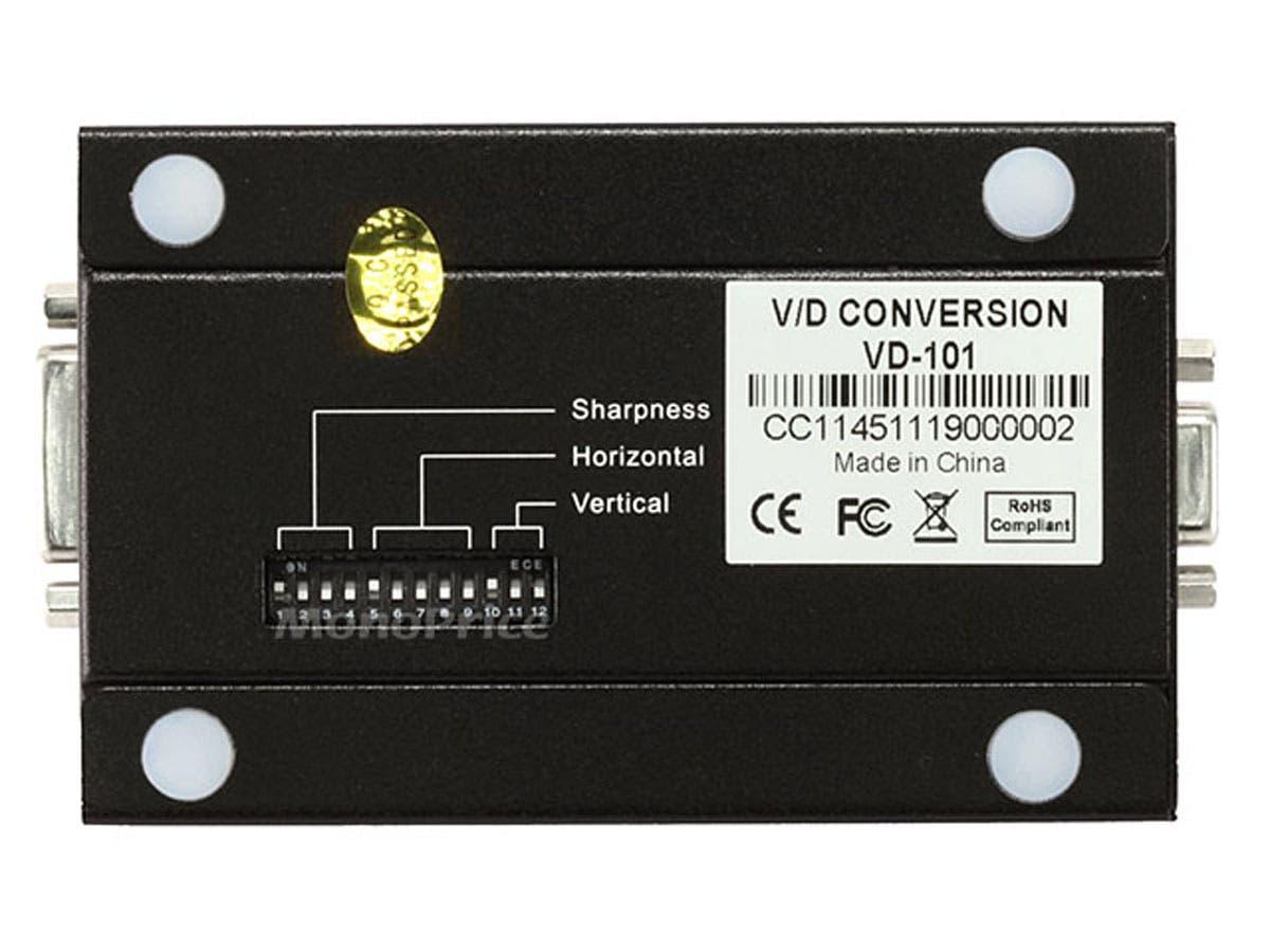 Monoprice Vga To Dvi Converter Konventer Small Image 3