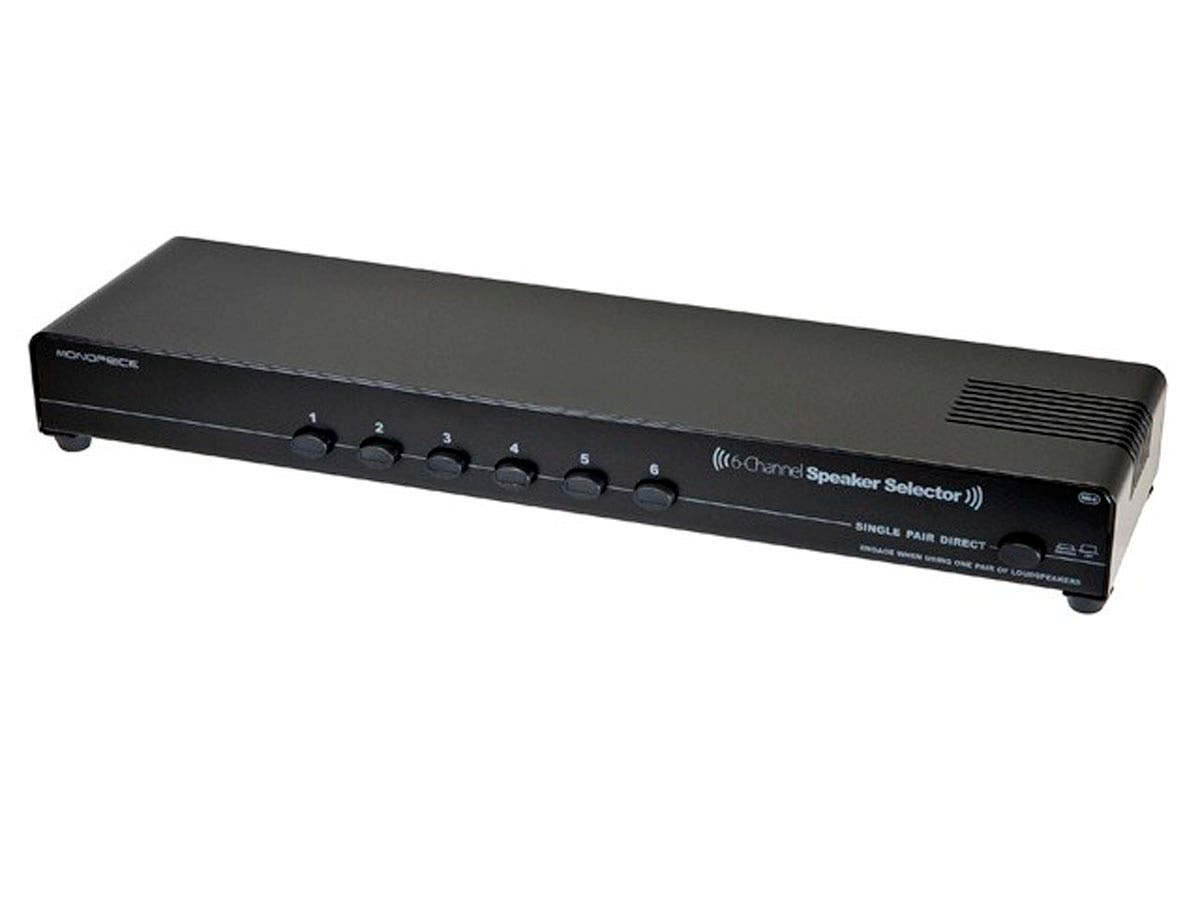 Monoprice 6-Channel Speaker Selector-Large-Image-1