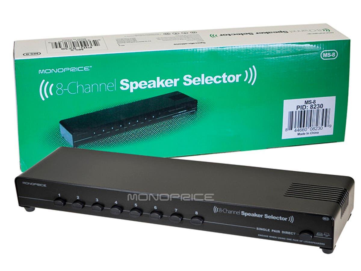 Monoprice 8-Channel Speaker Selector - Monoprice.com