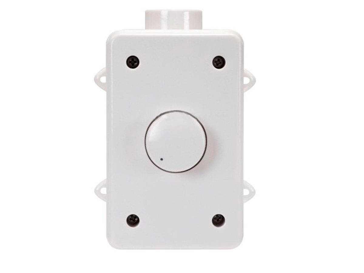 Monoprice Outdoor Speaker Volume Controller RMS 100W, White-Large-Image-1