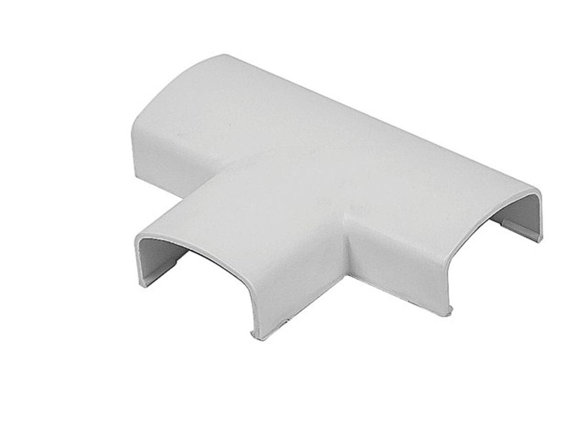 T Extension Cover for Cable Management, White