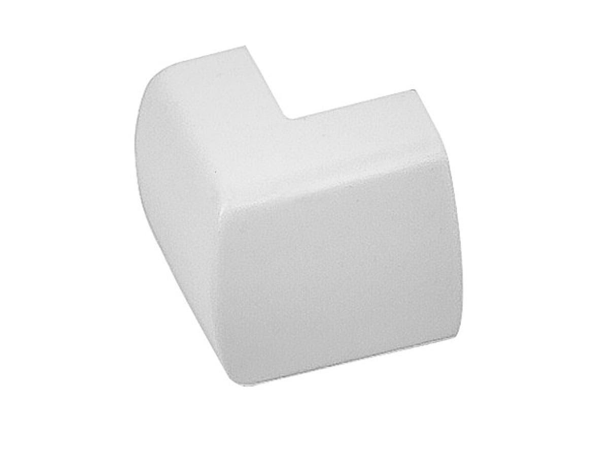 Outer Corner Cover for Cable Management, White