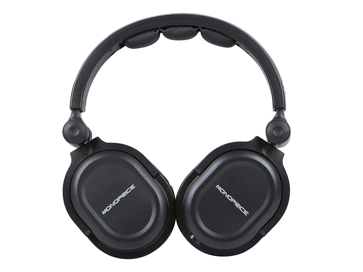 Tai nghe Monoprice Over-the-Ear Pro Headphone Bundle