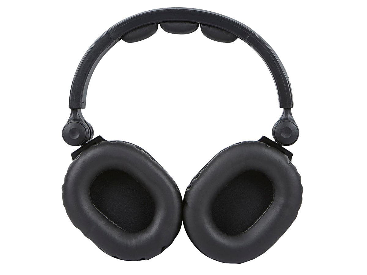 monoprice premium hi fi dj style over the ear pro headphones with mic. Black Bedroom Furniture Sets. Home Design Ideas