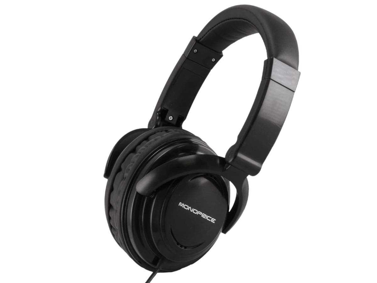 Monoprice Hi-Fi Light Weight Over-the-Ear Headphones-Large-Image-1