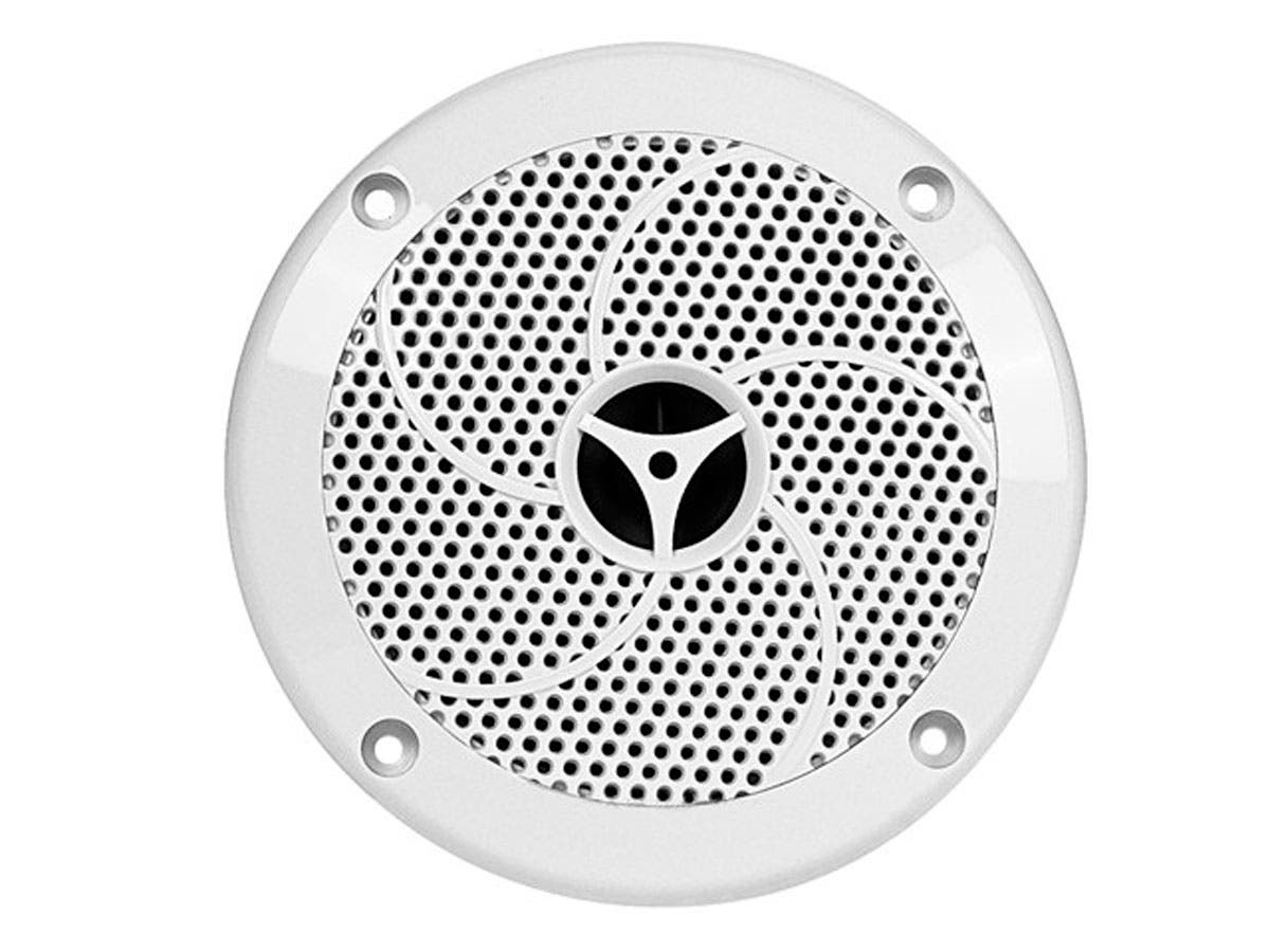 Monoprice UV Resistant 6-1/2 Inches 2-Way Marine Speaker (Pair