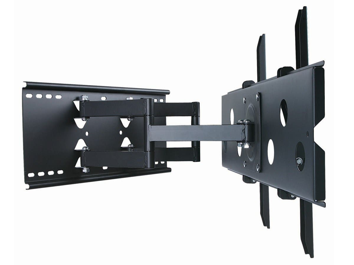 Monoprice Titan Series Full Motion Articulating Tv Wall Mount Wiring For Flat Screen Bracket Tvs 32in To 60in