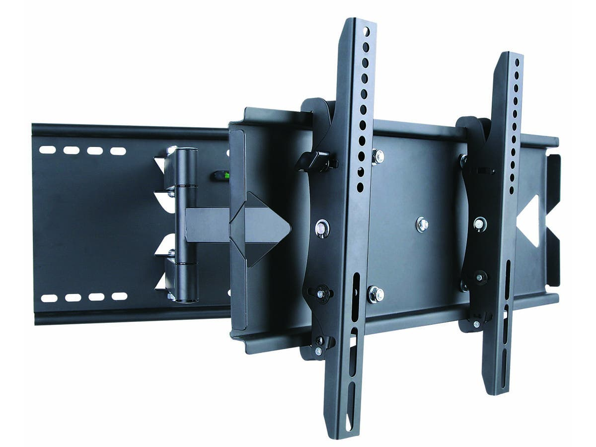 Titan Series Full-Motion Wall Mount for Medium 20~55in TVs up to 130 lbs, Black