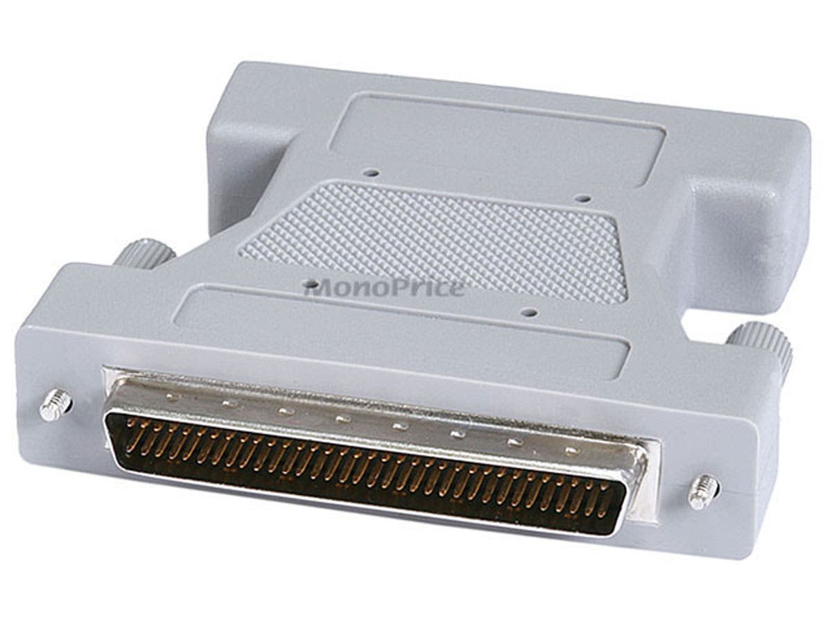 Monoprice HPDB 68M/HPDB 50F,SCSI 3 Adapter-Large-Image-1