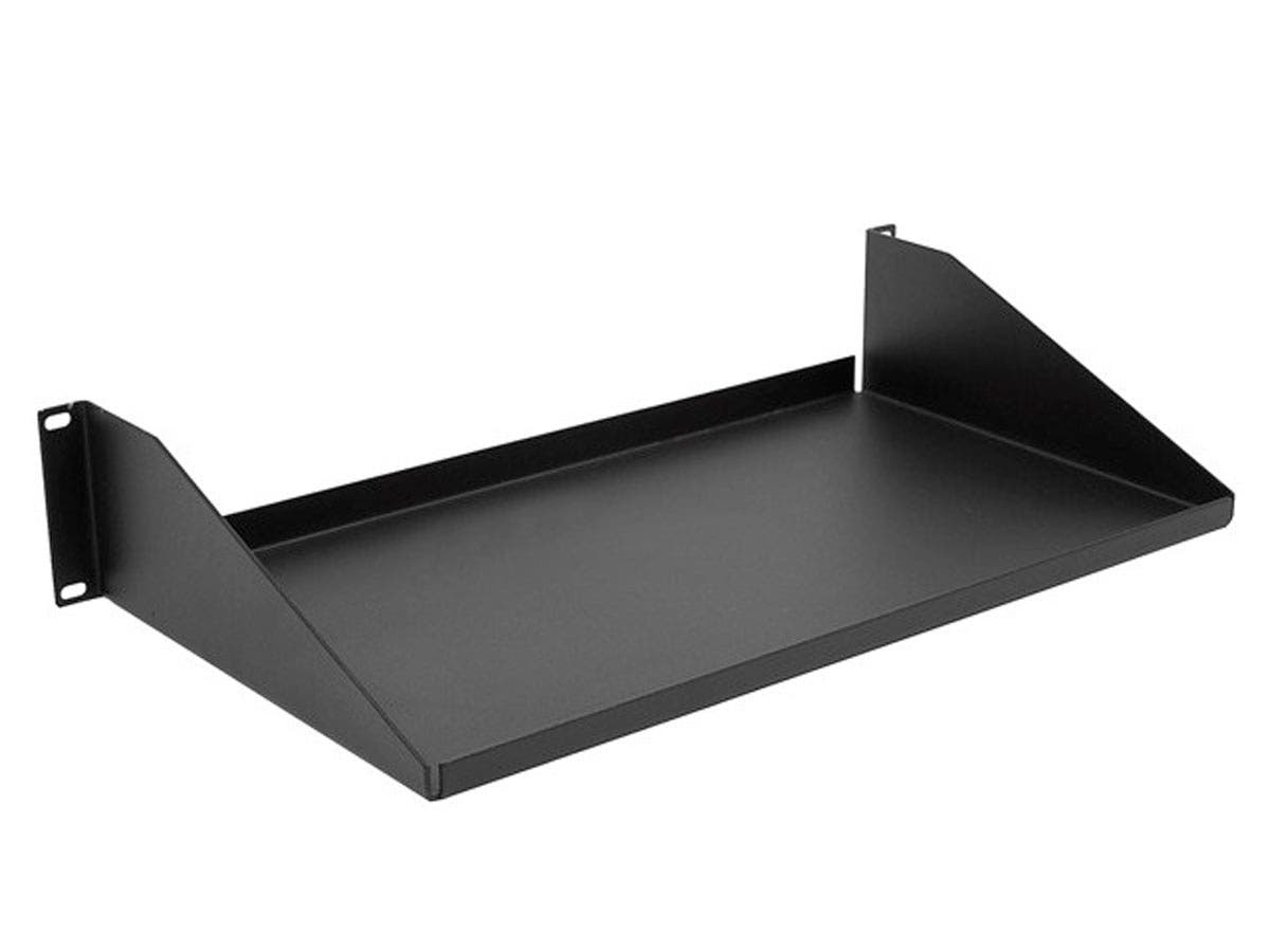 Single Sided Shelf, 3.5(H)X10(D)X19(W), 30Lbs-Large-Image-1