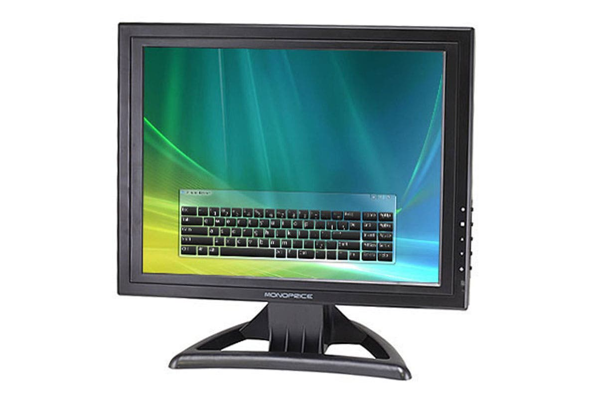 Monoprice 15 Inches LCD Touch Screen Monitor (4:3) (Open Box)-Large-Image-1