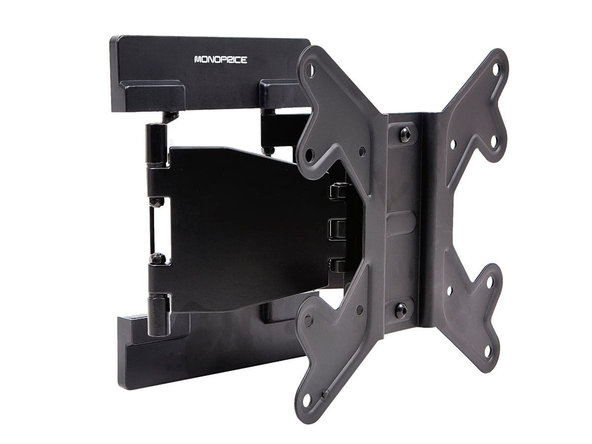 Ultra-Slim Full-Motion TV Wall Mount Bracket (Max 66 lbs, 23~42in)
