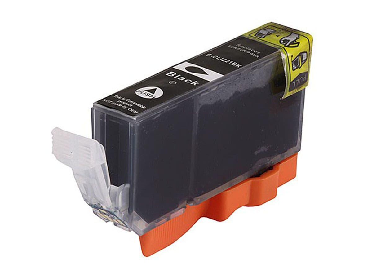 MPI compatible Canon CLI-221BK Inkjet-Black-Large-Image-1
