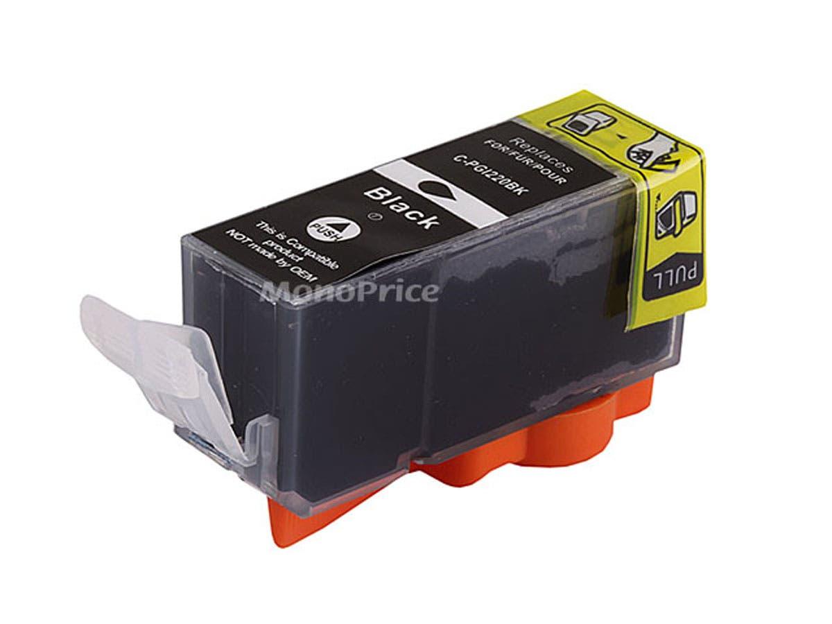 MPI compatible Canon PGI-220BK Inkjet-Black-Large-Image-1