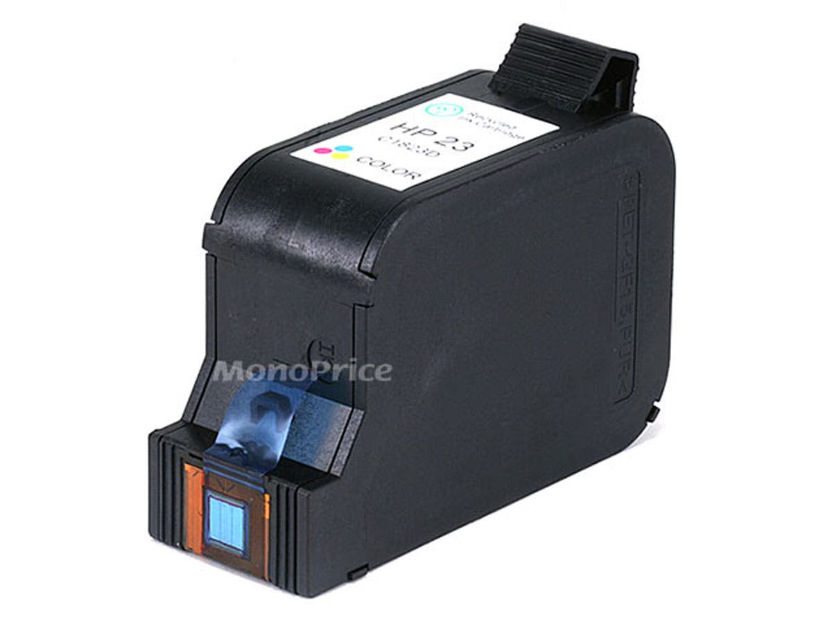 Monoprice remanufactured HP C1823A (HP 23) Inkjet-Tri Color-Large-Image-1