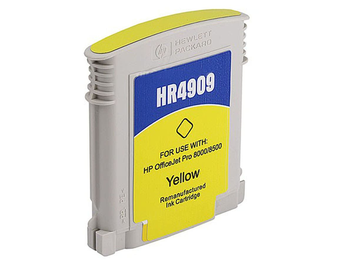Monoprice Compatible HP C4909AN (HP 940XLY) Inkjet-Yellow (High Yield)-Large-Image-1
