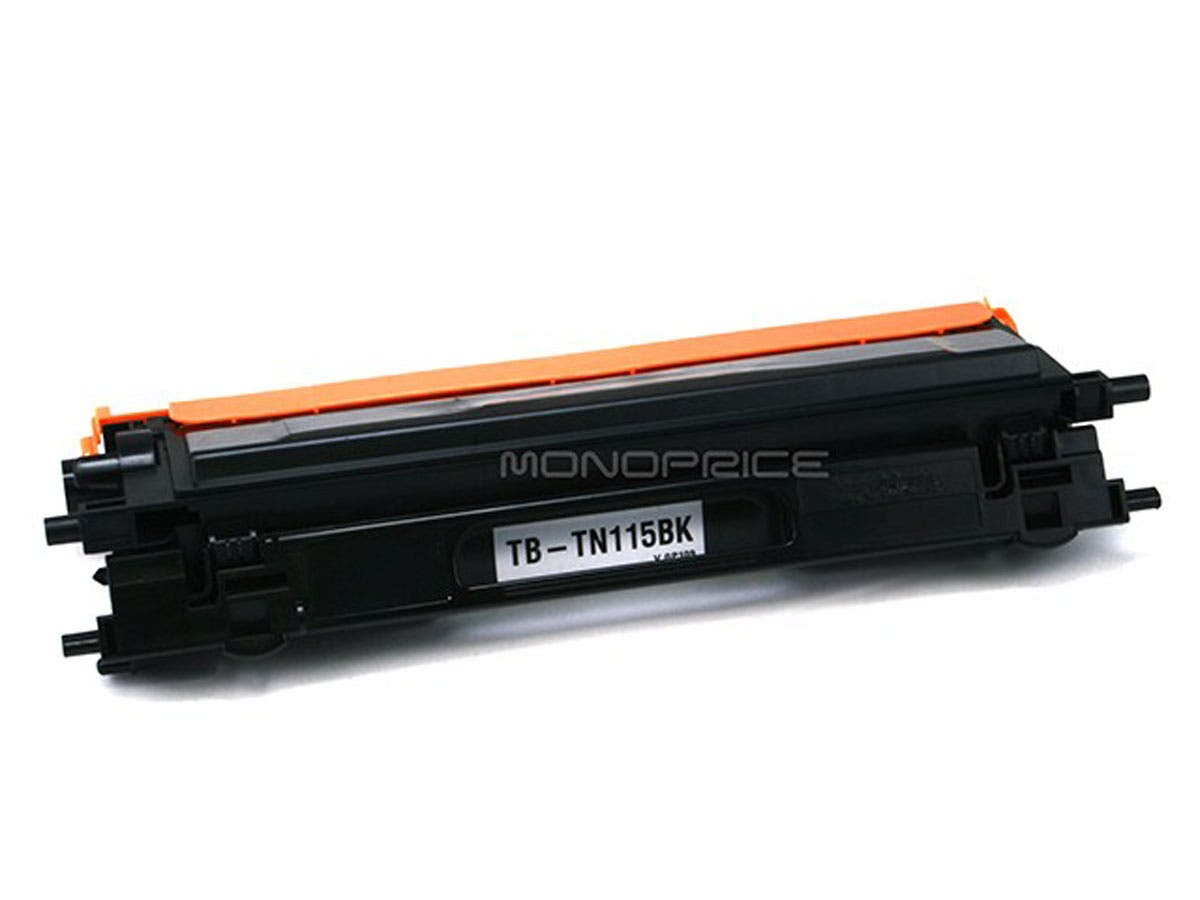 Monoprice Remanufactured Brother TN110/TN115BK Laser Toner - Black (High Yield)-Large-Image-1