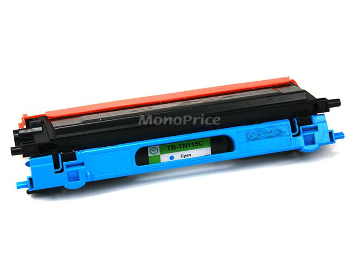 Monoprice Remanufactured Brother TN110/TN115C Laser Toner - Cyan (High Yield)-Large-Image-1