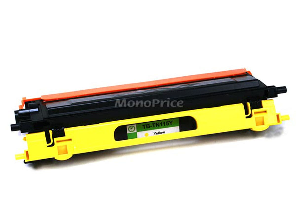 MPI Compatible Brother TN110/TN115Y Laser Toner - Yellow (High Yield)