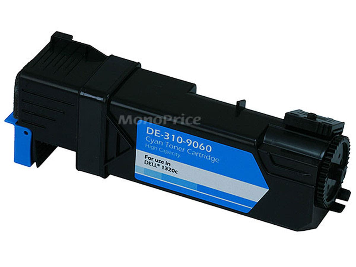Monoprice Compatible Dell 1320C Laser/Toner-Cyan-Large-Image-1