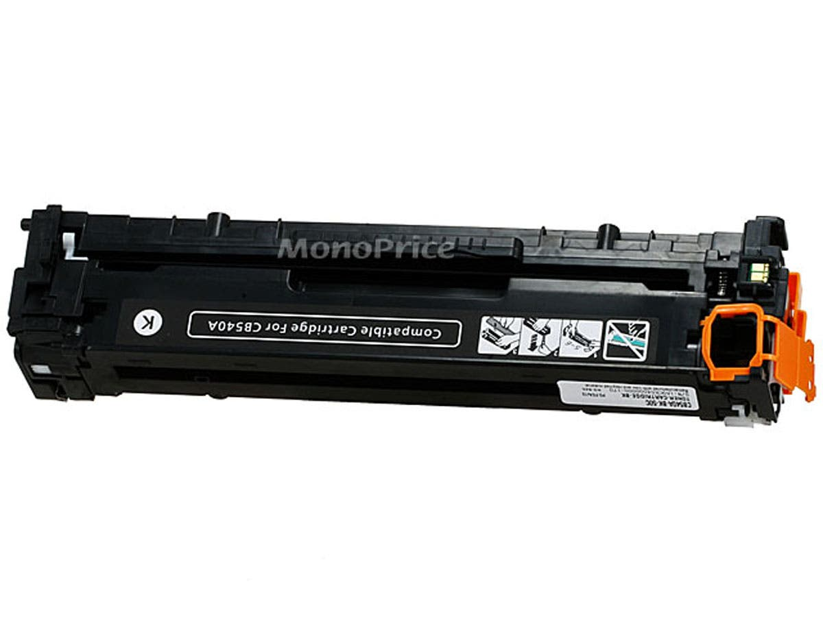 Monoprice Compatible universal HP CB540A/ Canon 116 (1980B001AA) Laser Toner - Black-Large-Image-1