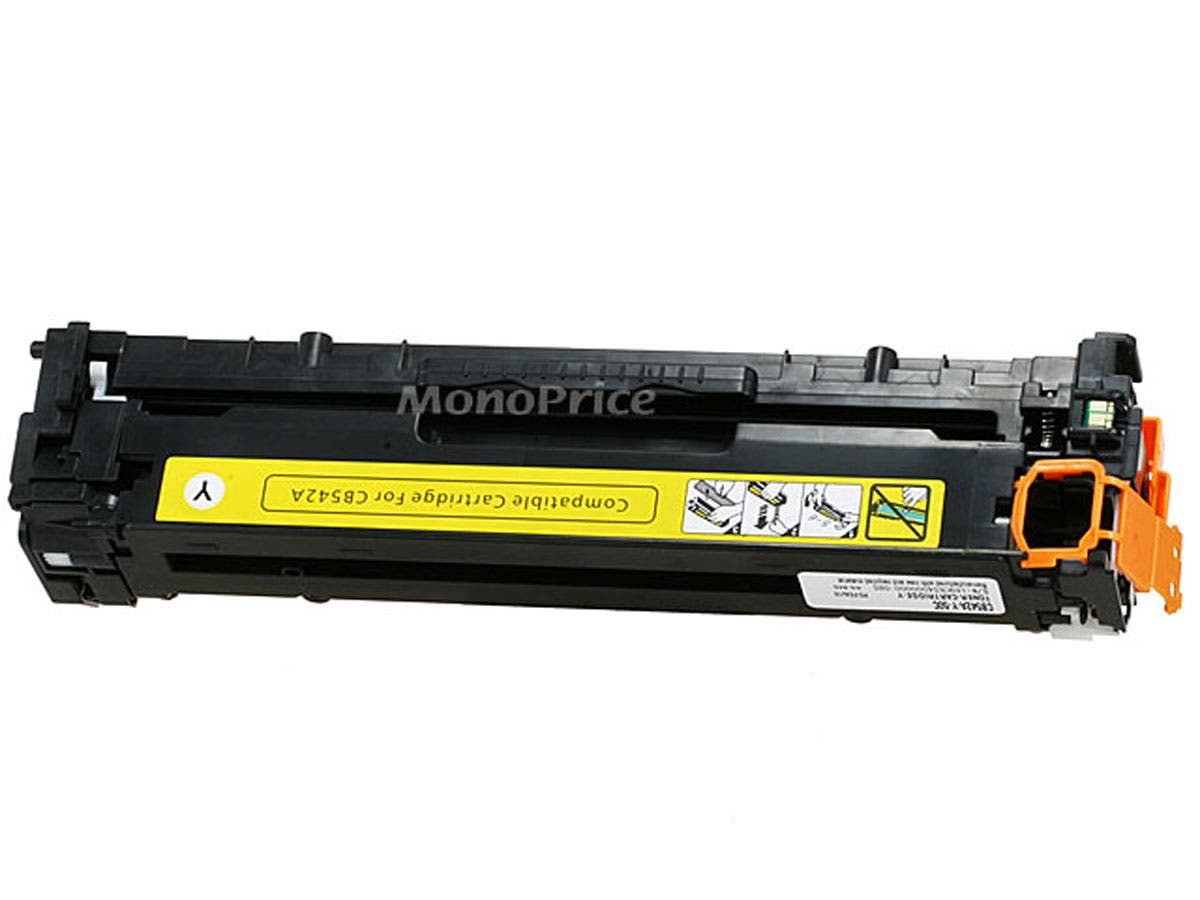 MPI Compatible universal HP CB542A/ Canon 116 (1977B001AA) Laser Toner - Yellow