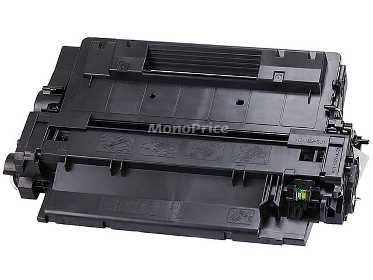 Monoprice Remanufactured HP CE255A Laser/Toner-Black-Large-Image-1