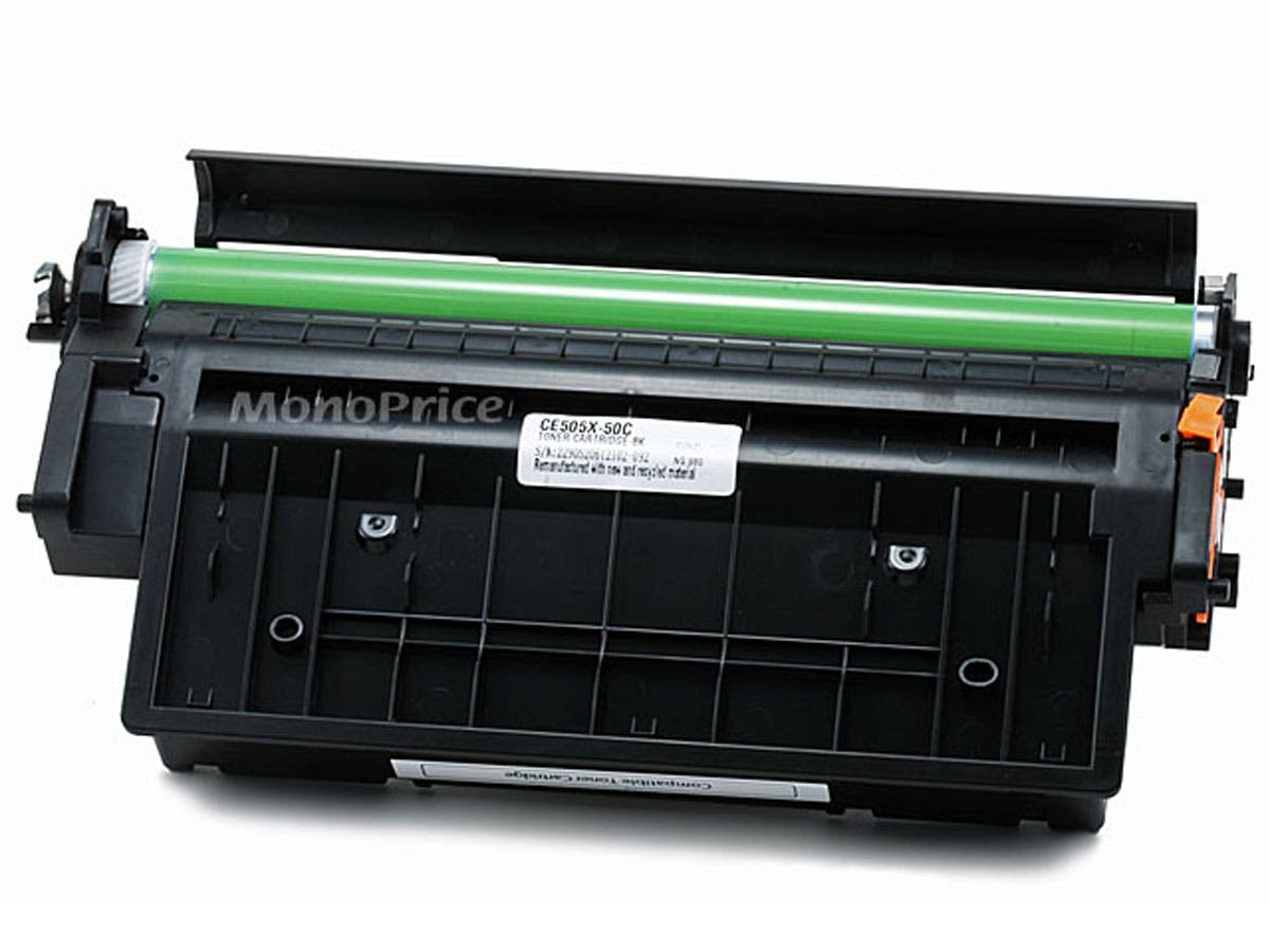 Monoprice Compatible HP CE505X Laser/Toner-Black (High Yield) and Canon 119 (High Yield) Universal-Large-Image-1