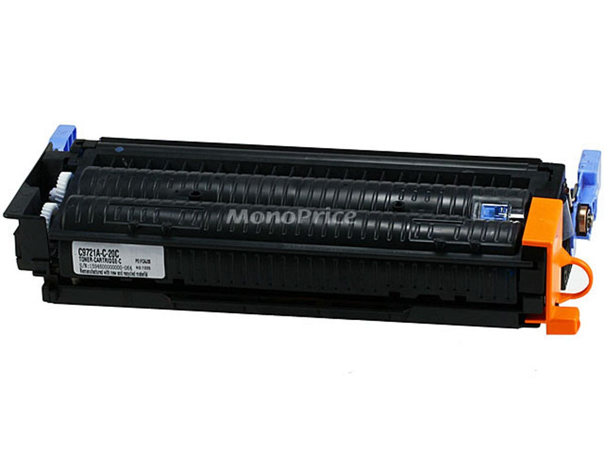 MPI remanufactured HP C9721A Laser/Toner-Cyan