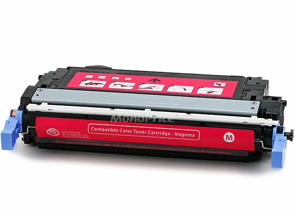 Monoprice Compatible HP CB403A Laser Toner - Magenta-Large-Image-1