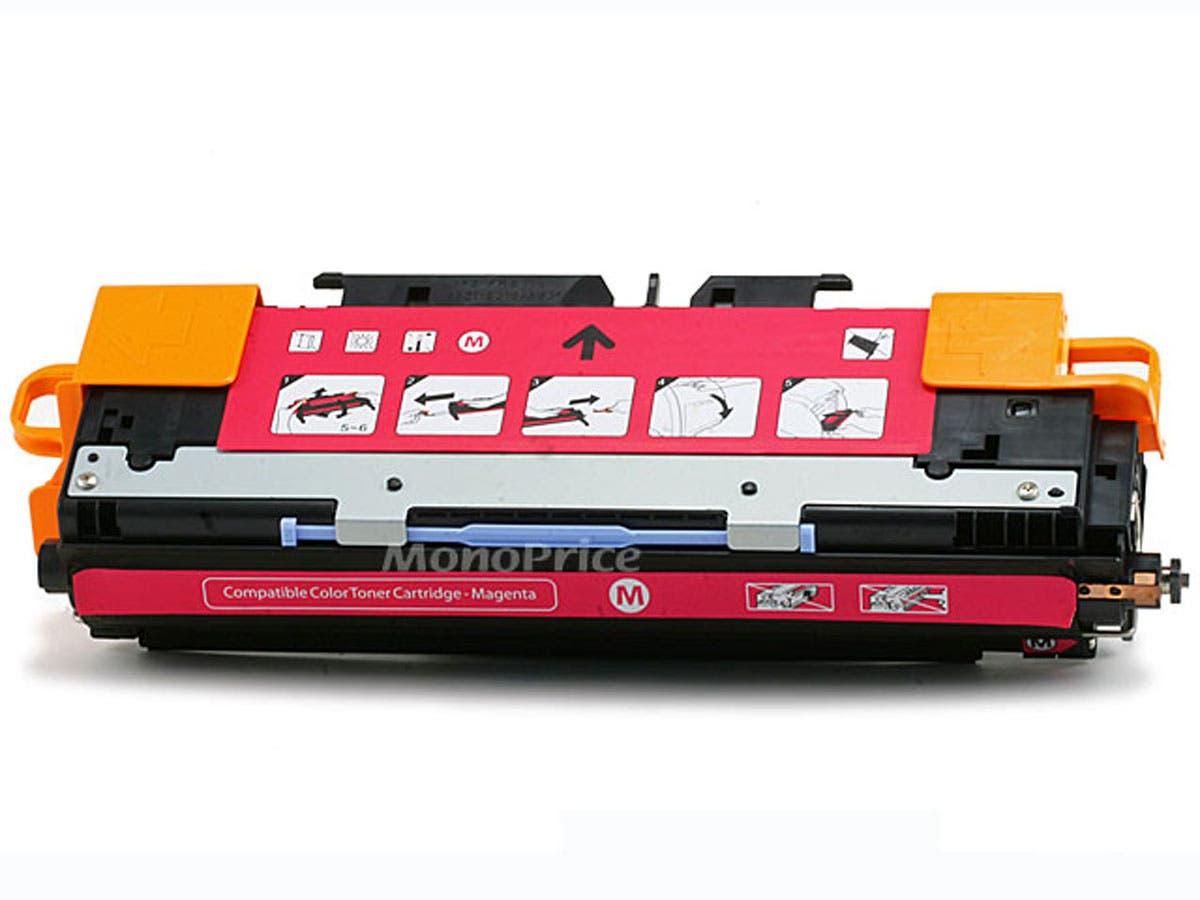 Monoprice Compatible HP Q2673AM Laser Toner - Magenta-Large-Image-1