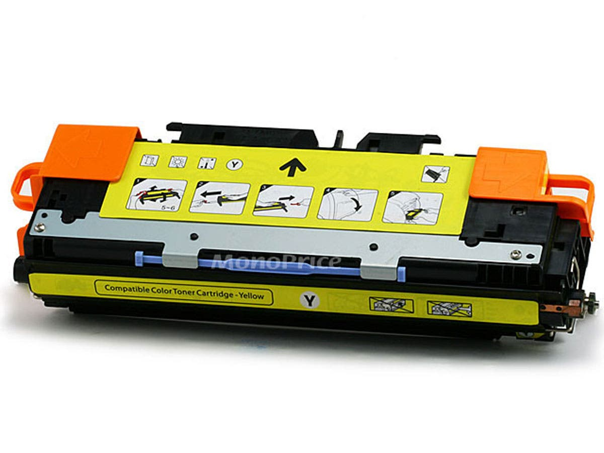 Monoprice Compatible HP Q2682A Laser Toner - Yellow-Large-Image-1