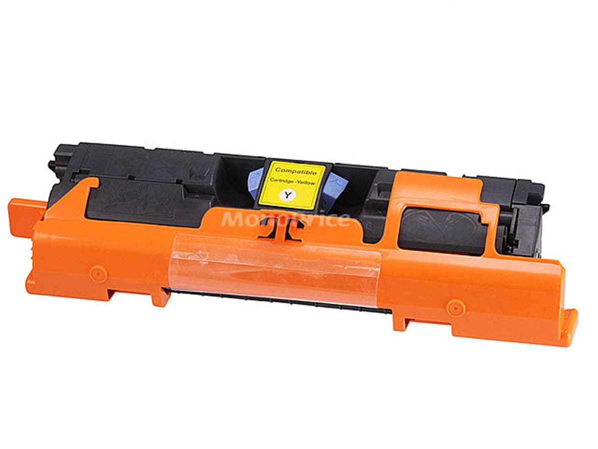 Monoprice Compatible HP C9702A/Q3962A/EP87Y Laser Toner - Yellow-Large-Image-1
