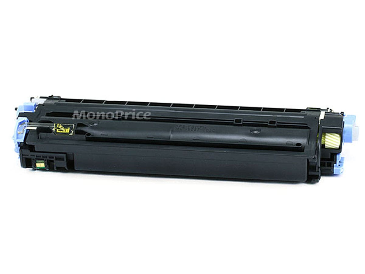 Monoprice Compatible HP Q6002A Laser Toner - Yellow-Large-Image-1