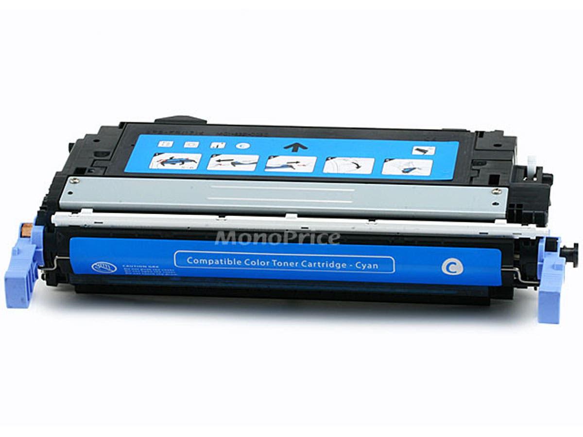MPI Compatible HP Q6461A Laser Toner - Cyan
