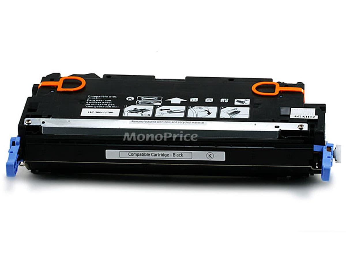 Monoprice Compatible HP Q7560AB Laser Toner - Black-Large-Image-1