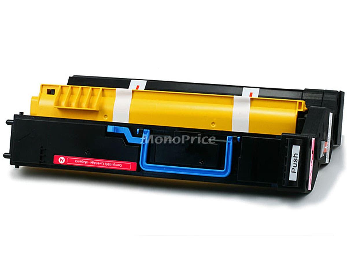 Monoprice remanufactured Minolta Q5430M Laser/Toner-Magenta-Large-Image-1