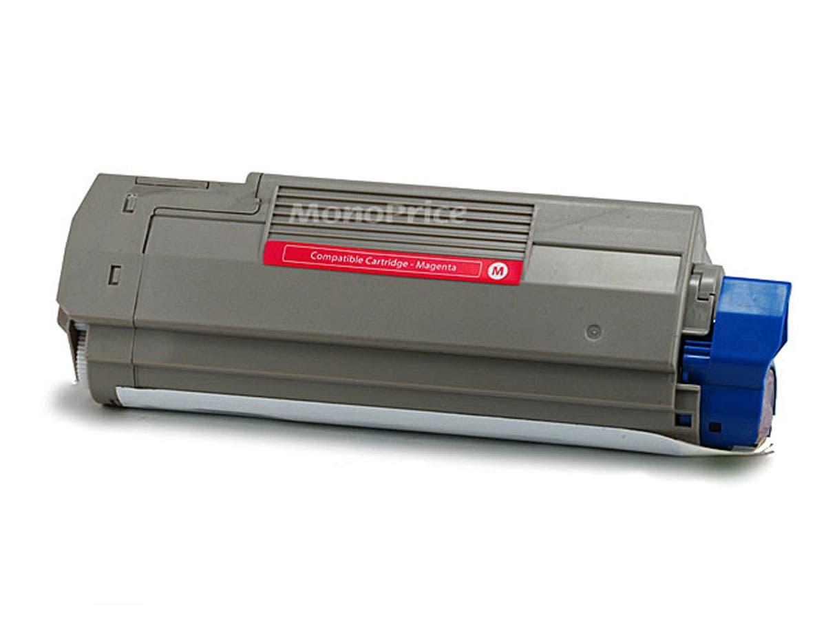 MPI Compatible okidata C5500/C5800/43324402 Laser Toner - Magenta