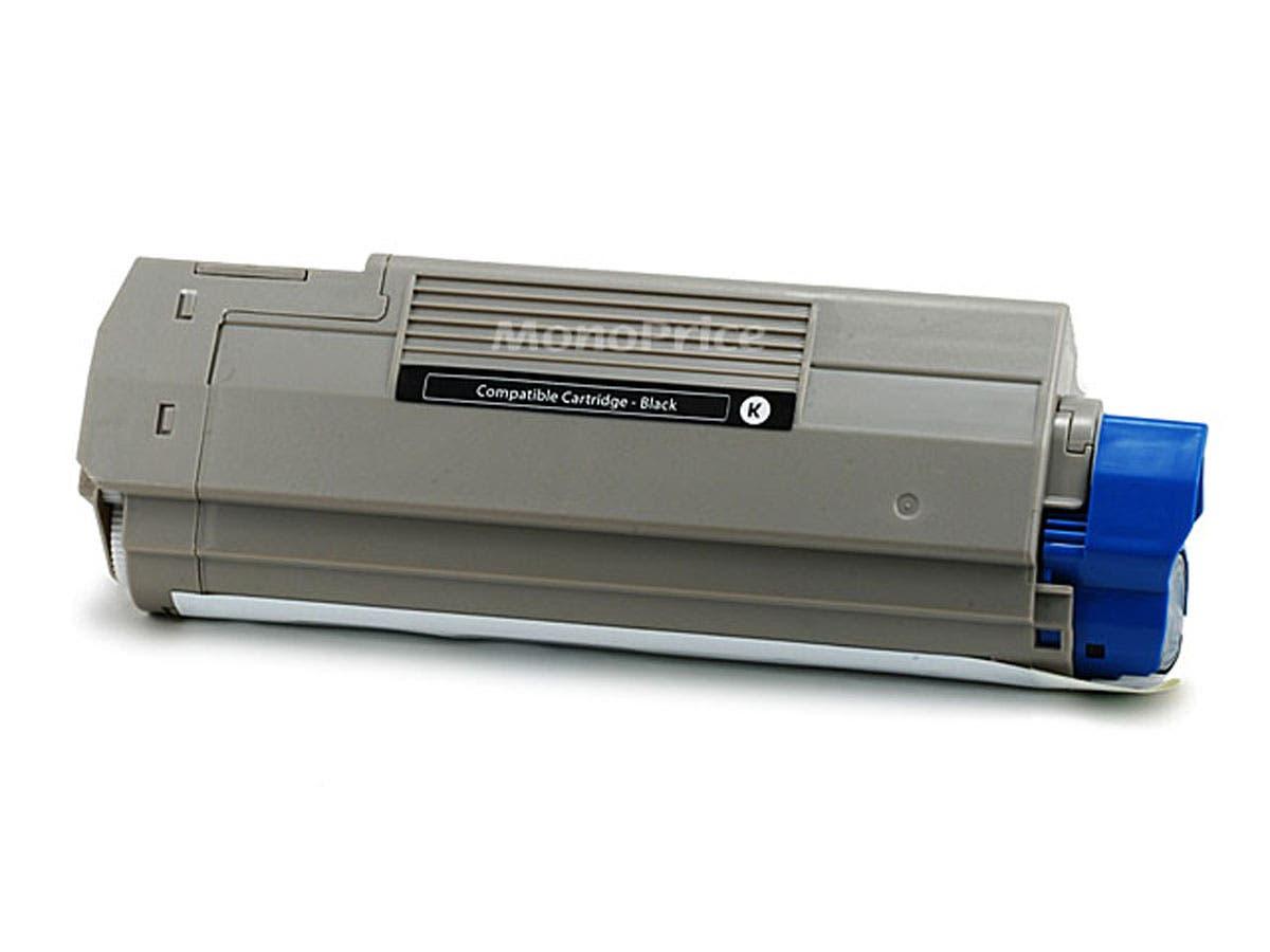 Monoprice Compatible okidata C5500/C5800/43324404 Laser Toner - Black-Large-Image-1