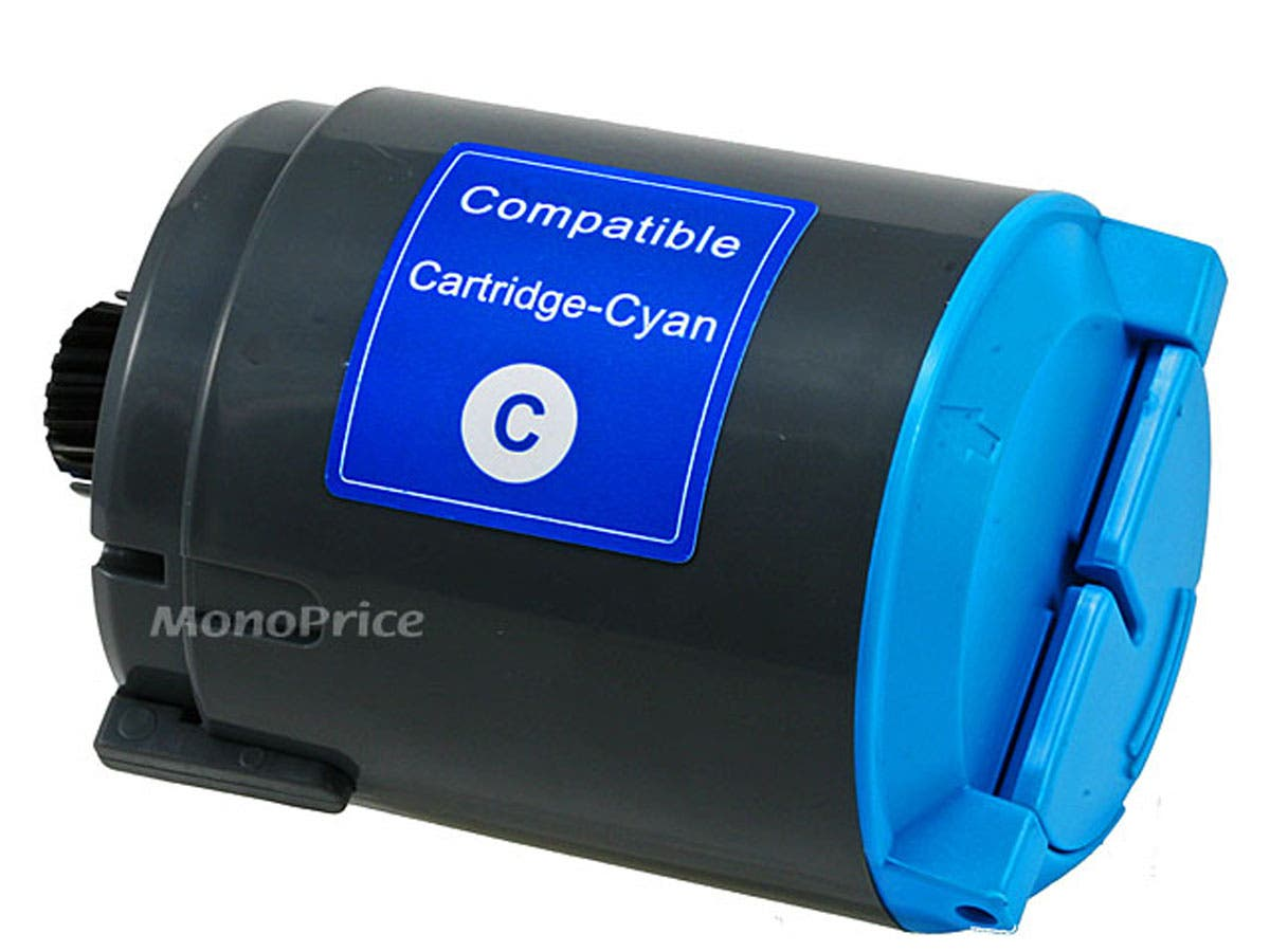 Monoprice compatible Samsung CLPC300A Laser/Toner-Cyan-Large-Image-1
