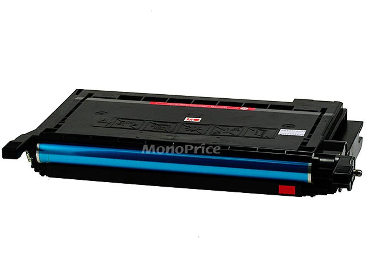Monoprice remanufactured Samsung CLPM600A Laser/Toner-Magenta-Large-Image-1