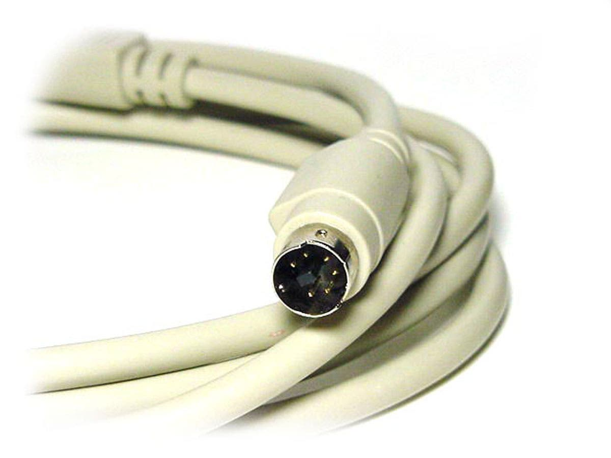 Monoprice 6ft PS/2 MDIN-6 Male to Male Cable-Small-Image