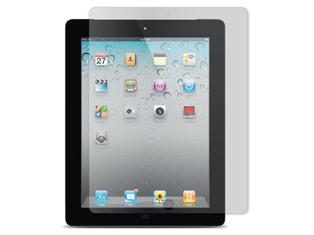 Screen Protector (2-Pack) with Cleaning Cloth for iPad 2, iPad 3, and iPad 4, Matte Finish