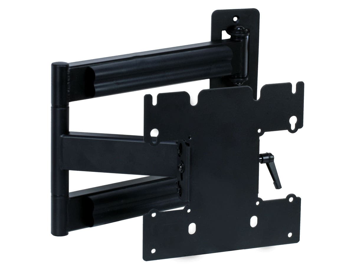 Monoprice Titan Series Tilt TV Wall Mount Bracket - For TVs 23in to 42in, Max Weight 80lbs, Extension Range of 3.0in to 24.0in, VESA Patterns Up to 200x200, No Logo-Large-Image-1