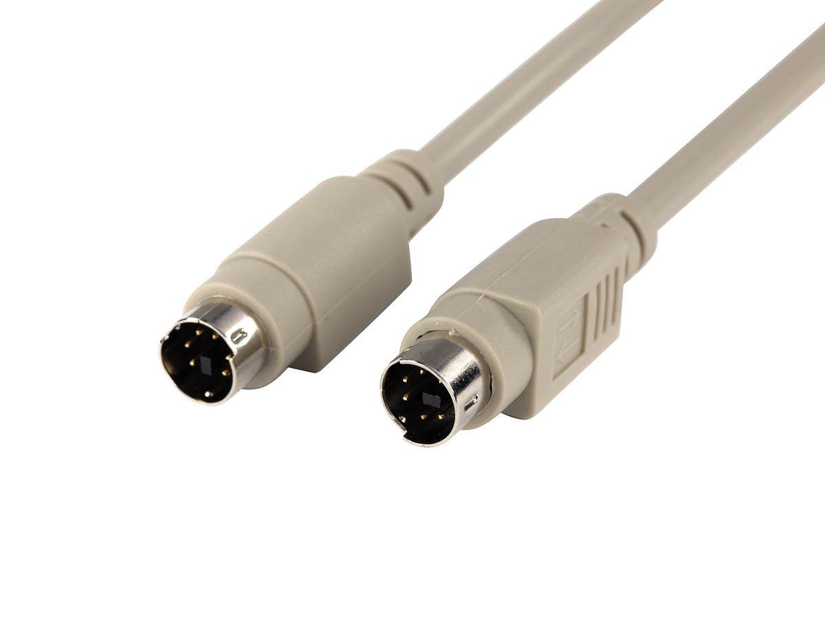 10ft PS/2 MDIN-6 Male to Male Cable